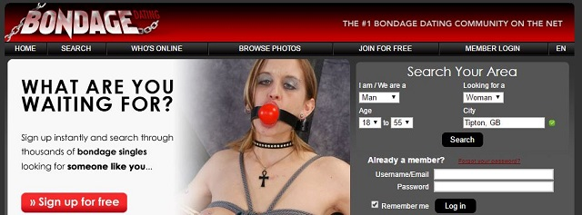 bondage dating website