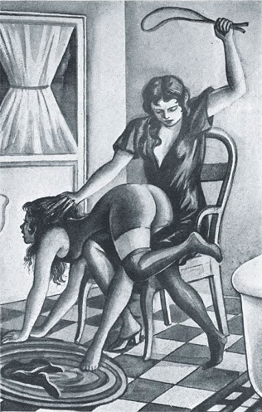 over the knee spanking BDSM terms A-Z